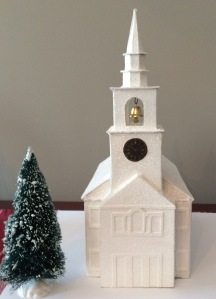 Model of Hancock Congregational Church