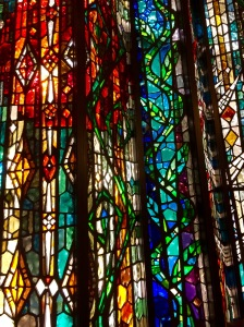 Stained Glass Window at Dana-Farber Chapel